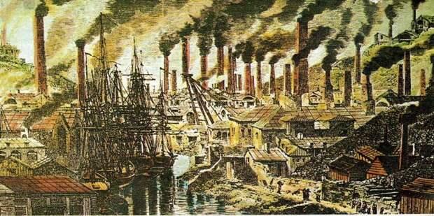 Индустриальная революция на Западе и две мировые войны