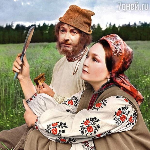 Гелогий Вицин с Людмилой Хитяевой