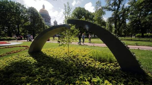 В понедельник в Петербург вернётся 30-градусная жара