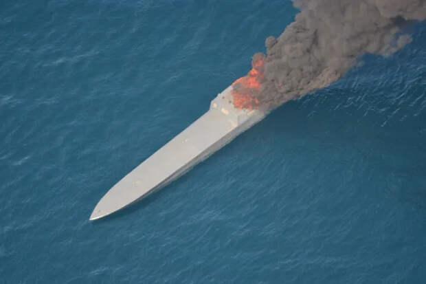 Как американские военные перехватили композитное судно-невидимку сгрузом кокаина