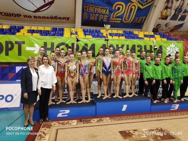 Карельские гимнастки одержали победу на Спартакиаде