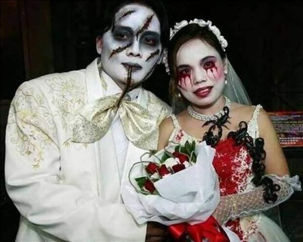 Несколько экстремальных  примеров - как сделать свадьбу  запоминающейся