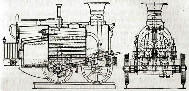 Второй паровоз Черепановых