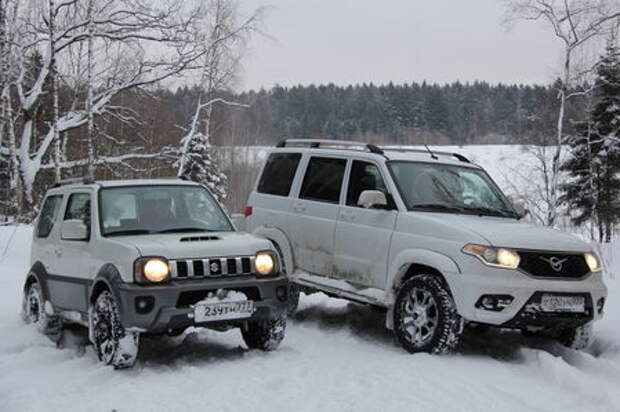 УАЗ Патриот против Suzuki Jimny: рама на раму