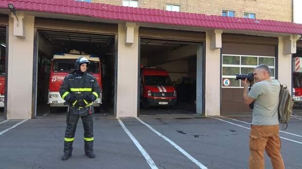 Герои среди нас: пожарный, спасший человека, готовится к получению награды