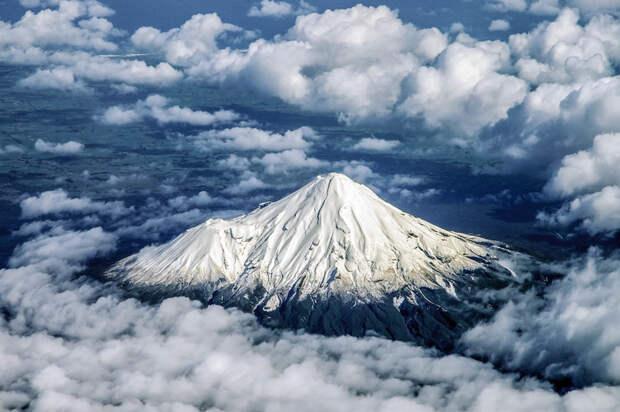 Вулкан Таранаки — новозеландский двойник Фудзиямы