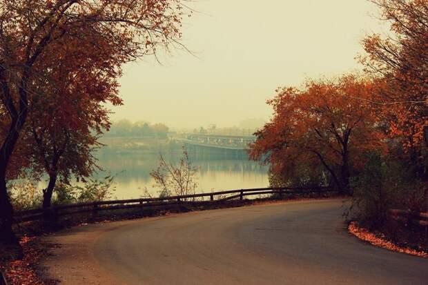 Съезд с северного моста