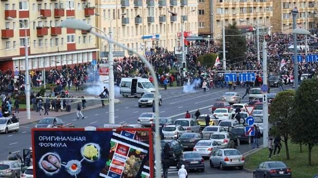 Почти 200 человек задержаны на акциях протеста в Белоруссии