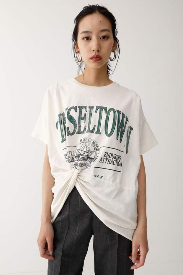 Необычный крой футболки