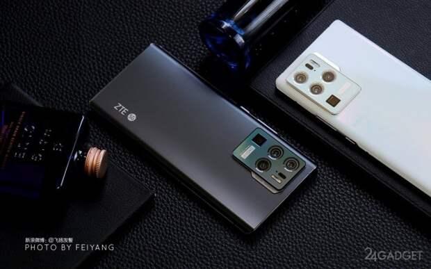 Смартфон ZTE Axon 30 Ultra получил сразу три 64 Мп сенсора