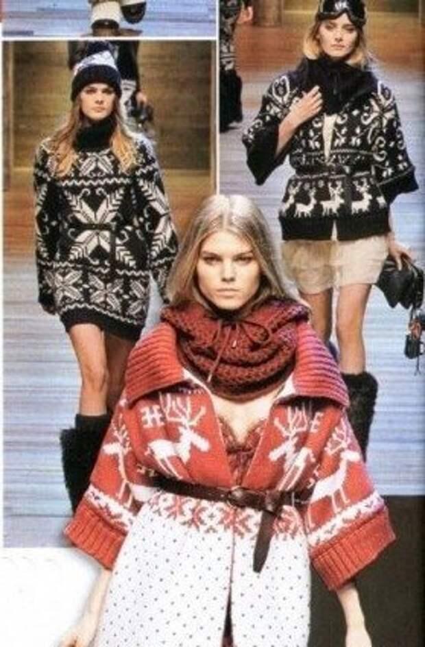 Вязаная мода осени-зимы 2013/2014