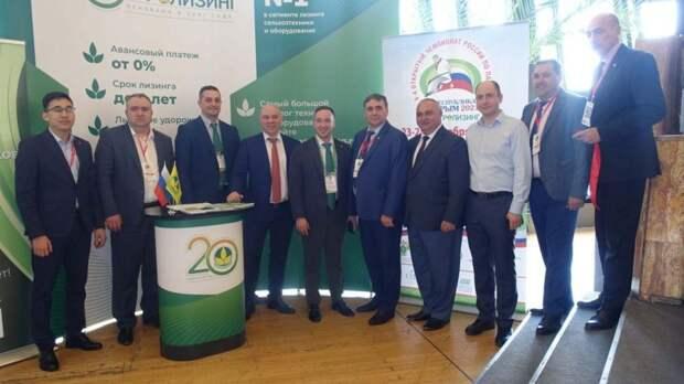 Василий Грабован принял участие в открытии IX Специализированной Аграрной выставки «АгроЭкспоКрым»