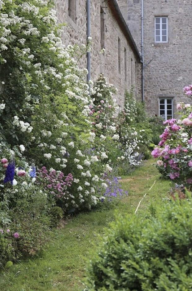 Цветочный замок Клер Баслер
