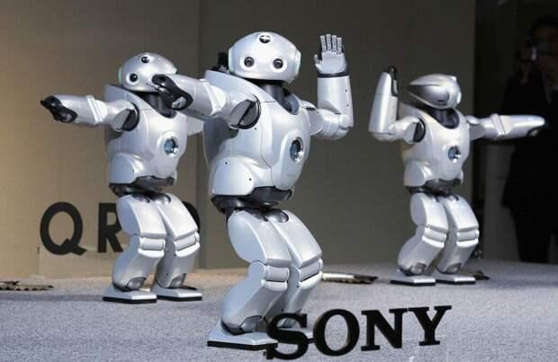 Корпорация Sony в Японии на одном из заводов полностью заменила людей на роботов