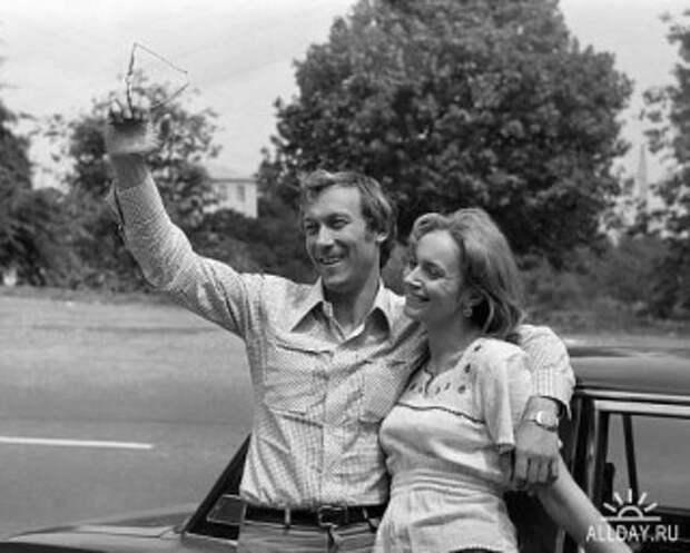 Ирина Купченко и Олег Янковский.