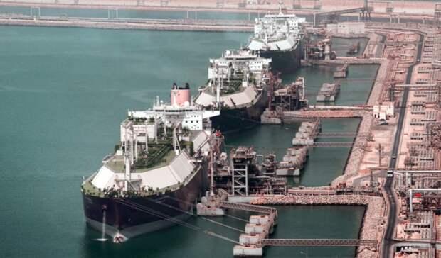 Катар намерен лидировать нарынке СПГ еще 20 лет