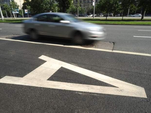 26 км новых выделенных полос появится в столице в 2015 году