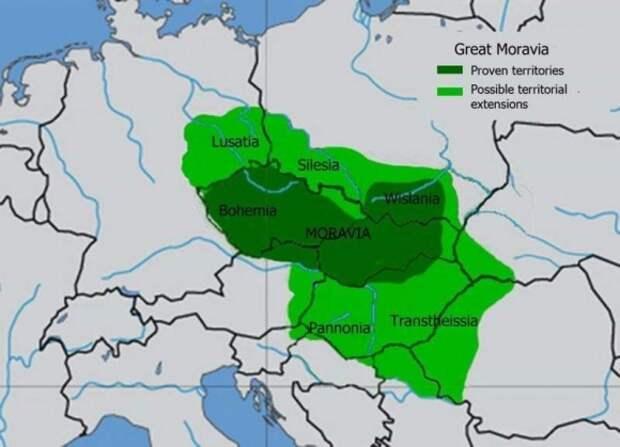 К падению Великой Моравии привели венгры и междоусобицы