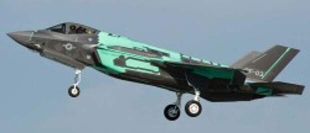 Истребитель-бомбардировщик Lockheed F-35C
