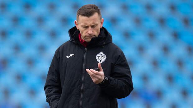Олич заявил о большом объеме работы в ЦСКА
