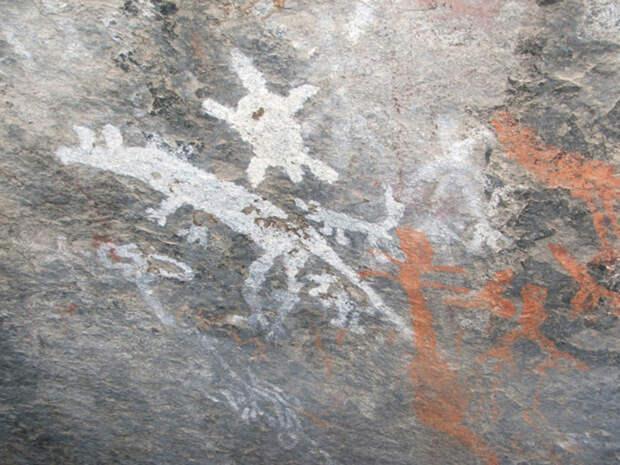 Национальный парк аборигенов Намаджи с кенгуру, динго, ехидной или черепахой, тотемы и истории созданы с использованием точек.
