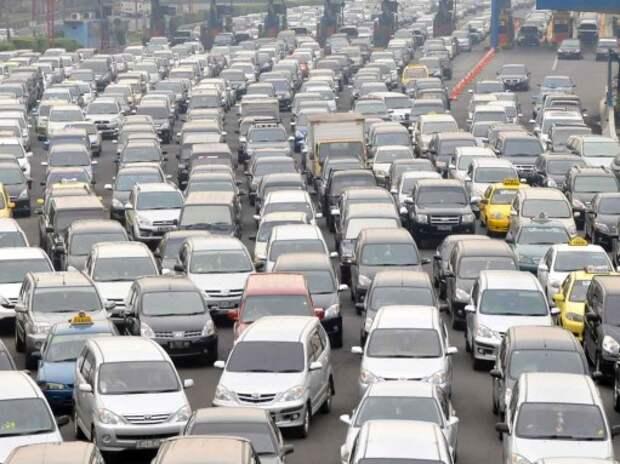 Список самых «пробочных» городов мира возглавила Джакарта