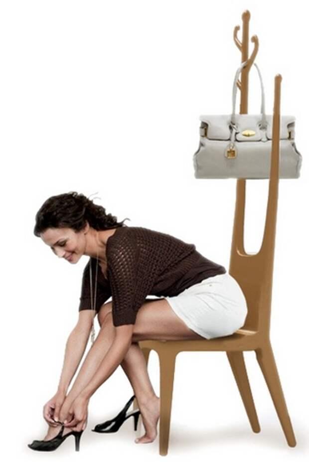 сиденье в прихожей