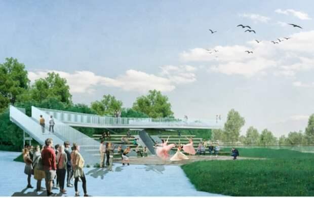 В Крыму представили конкурсные проекты реконструкции Гагаринского парка