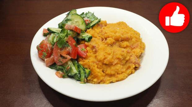 Фото к рецепту: Чечевица в мультиварке на обед или ужин, простой рецепт второго