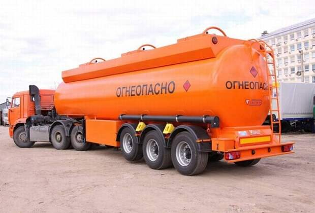 Бензин цистерна РТС запасы