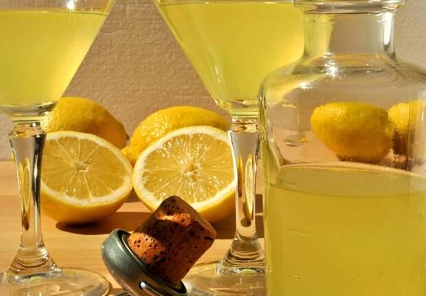 коктейли с ликером лимончелло
