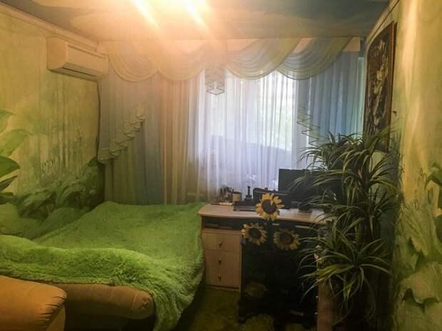 «Райский уголок» в московской панельке отнимает дар речи