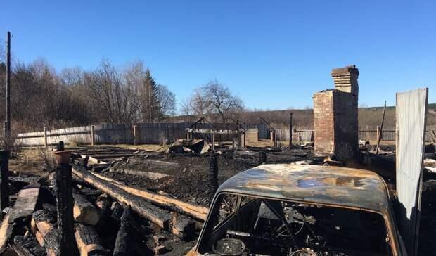 Наместе пожара вБызово по поручению Бастрыкина начали работать следователи