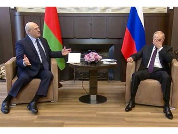 Встреча Лукашенко и Путина в Сочи продлилась больше 4 часов