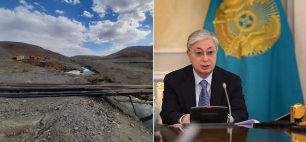 «Более Т200 тыс.» – золотодобытчиков оштрафовали за вред реке после вмешательства Токаева