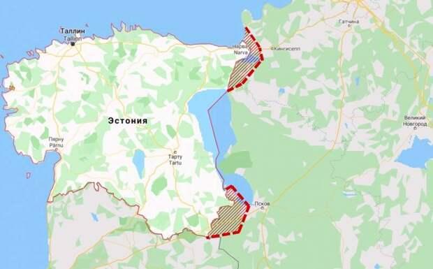 Эстонские власти захотели присоединить часть России