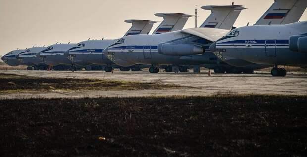 Гадят как могут: Польша устроила засаду русским Ил-76