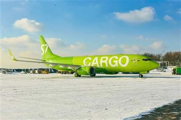 S7 Airlines получила в свой воздушный флот первый грузовой Boeing