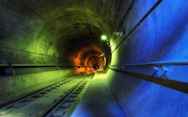 Секретный проект под Амуром: единственный в России подводный железнодорожный тоннель
