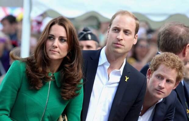 Принц Гарри помирился с братом Уильямом