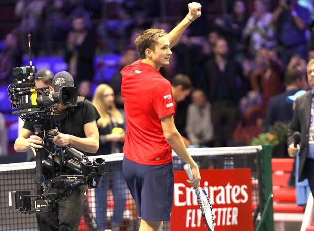 В финале US Open сойдутся первая и вторая ракетки мира: серб Джокович против россиянина Медведева!