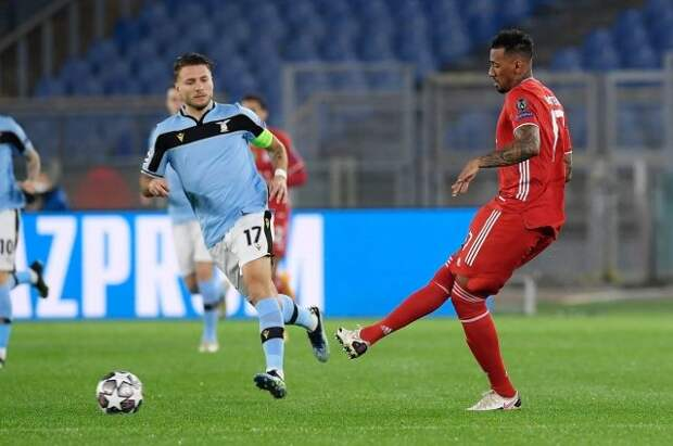 «Бавария» со счётом 4:1 разгромила «Лацио» в первом матче 1/8 финала ЛЧ