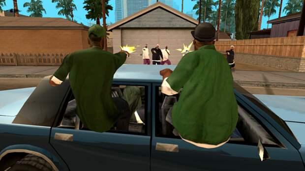 Лучше, чем в GTA: драка на автомагистрали через открытые окна!