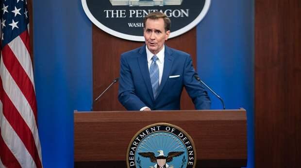Пресс-служба Пентагона напомнила о запрете на контакты с Россией