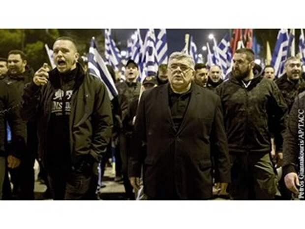 Греки повторили Нюрнбергский процесс над прорусской партией