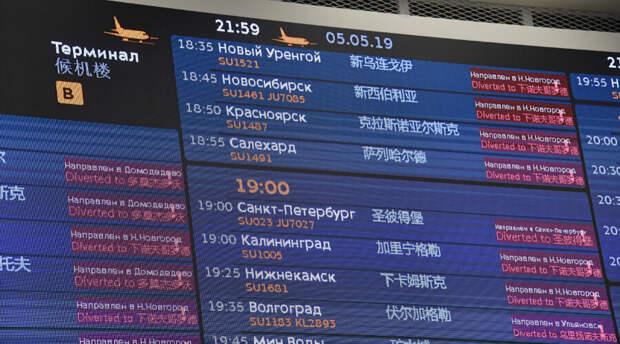 В новосибирском аэропорту сняли с рейса размахивавшего руками матершинника