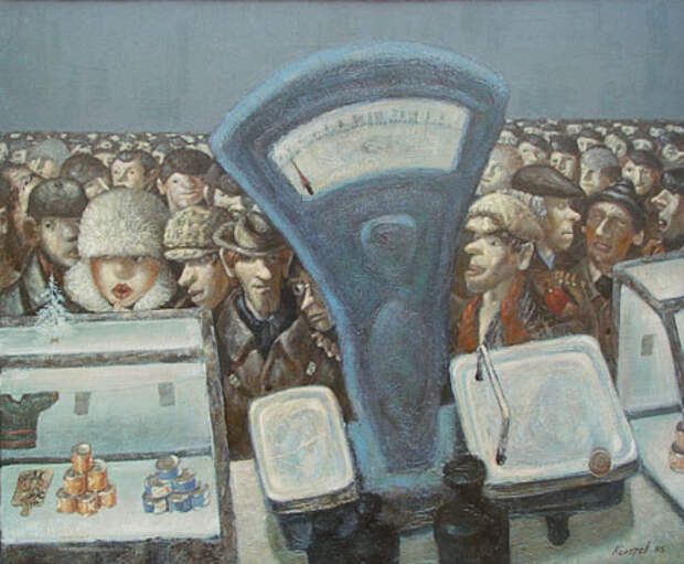Художник-нонконформист Василий Колотев и его антисоветская живопись