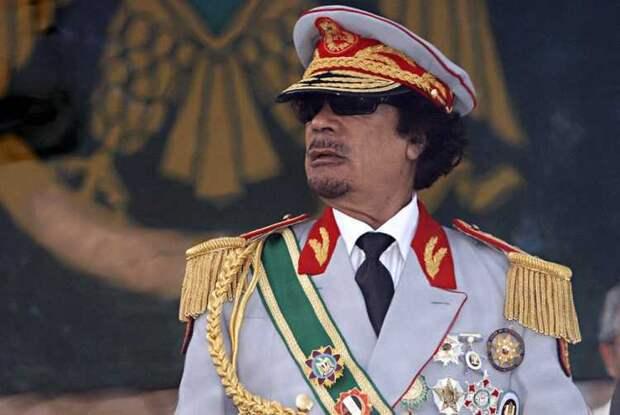 """Перечень """"преступлений"""" из-за которых в октябре 2011 года был убит Муаммар Каддафи"""
