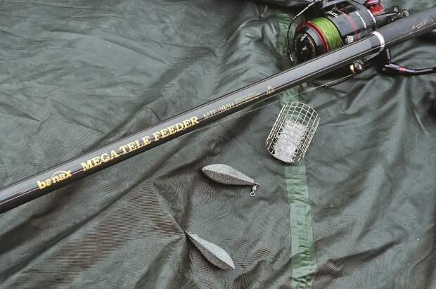 Оснащённый и собранный фидер Вanax Megа Tele feeder 390 всегда готов к работе.