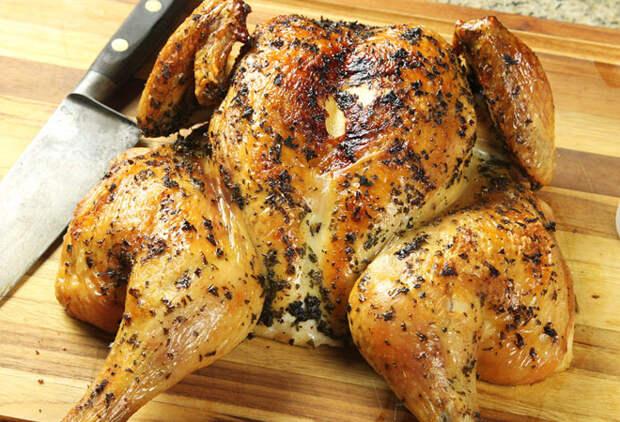 Курица на соли: самый сочный способ приготовить курицу